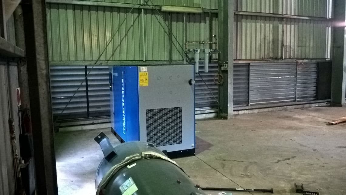 Air Compressor Installation Relocation